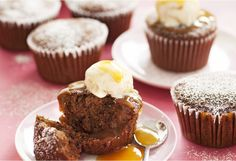 Grab an extra napkin! Sticky date muffins taste delightful and they live up to their name.