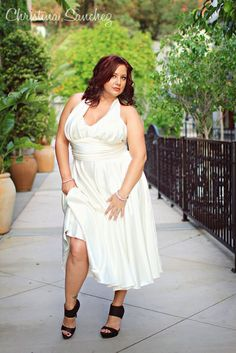 curvy plus size model