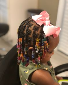 Box Braids Hairstyles for Kids 2018 Braids are always attractive and appear beautiful. But styling your hair with one or two braids seems banal. And kids always love style and beauty in their… Box Braids Hairstyles, Toddler Braided Hairstyles, Lil Girl Hairstyles, Black Kids Hairstyles, Natural Hairstyles For Kids, Natural Hair Styles, Short Hair Styles, Long Hairstyle, Fancy Hairstyles
