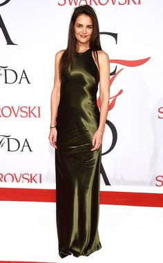 Katie Holmes from 2015 CFDA Fashion Awards: Red Carpet Arrivals