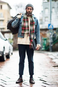 Seen on the Street | Outside the Fall/Winter 2014 Milan Men's Shows