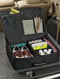 Golf Gear Organizer for trunks or storage for golf lovers | Solutions