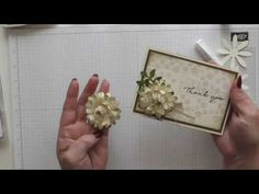 Stampin' Up! Daisy Punch Alternate Flower - YouTube