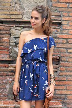 Clara Alonso sooooo cute for the 4th of July