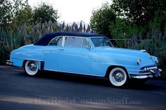 1952 Desoto Convertible. My Mom had is very same car.