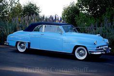 1952 Desoto Convertible. My Mom had is very same car.