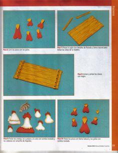 Revistas de manualidades Gratis: Manualidades en Goma Eva - País