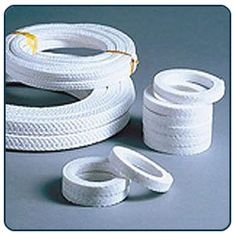 Pure PTFE Teflon® Gland Packing – Made from PTFE Yarn  A special tough 100% Pure PTFE Packing impregnated with special ultra chemical inert suspension. The Teflon® packing is diagonally braided. Our special impregnation process increases compressibility and recovery factors.  http://www.ptfegraphitecarbonglandpacking.com/pure-ptfe-teflon-gland-packing-made-from-ptfe-yarn.html