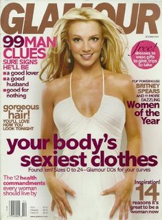 Glamour Magazine December 2003 Back Issue ~ Britney Spears Cover , www.amazon.com/...