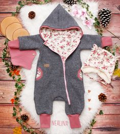Sewing For Kids, Baby Sewing, Overall Kind, Baby Overall, Diy Furniture Redo, Kids Patterns, Reborn Baby Dolls, Natural Baby, Baby Knitting