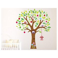we will soon buy this tree as the other one did not stick enough after moving it in her room. its way cheaper and still matches the remaining parts of the old wall decal