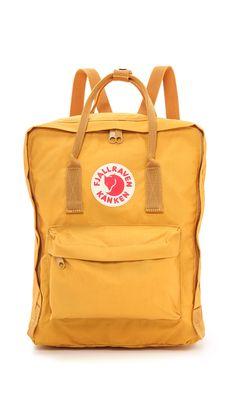 Fjallraven Kanken Backpack - Ochre | SHOPBOP.COM | วิ พัชร์ on ShoppingIS | Make…