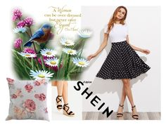 """""""shein # 9"""" by begicdamir ❤ liked on Polyvore featuring Chanel"""