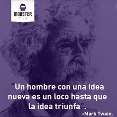 Mark Twain. #monsterblinds #decoracion #estilo #casa #hogar #persianas #blinds #design #interiordesign #remodela #colores #formas #texturas