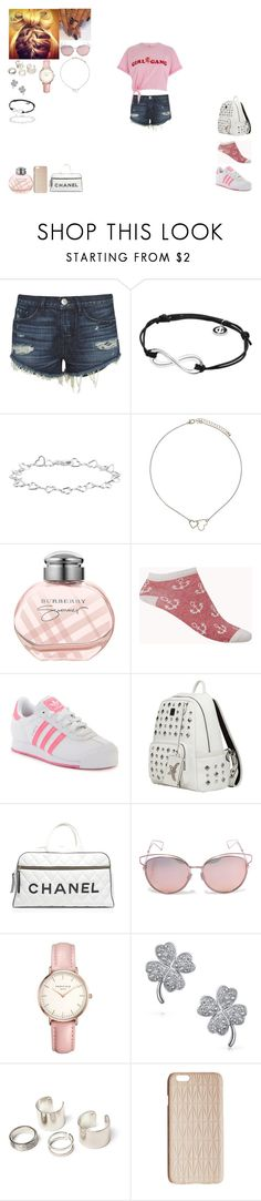 """""""Going to Sunny Beach With my Ex"""" by harley-98 ❤ liked on Polyvore featuring 3x1, Georg Jensen, Topshop, Burberry, Forever 21, adidas, MCM, Chanel, Christian Dior and Bling Jewelry"""