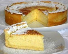 Tarta de Ricota - Taringa! My Recipes, Sweet Recipes, Cake Recipes, Dessert Recipes, Favorite Recipes, Delicious Desserts, Yummy Food, Pastry And Bakery, Pie Cake