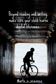 """Beyond reading and writing, make sure your child learns digital literacies."" #globaled #edchat #touchthefuture Christa McAuliffe School of Arts and Sciences Blog"