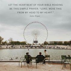 christian quotes | John Piper quotes | prayer | Bible reading