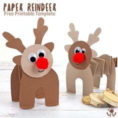 166 Best Reindeer Images Activities Christmas Decorations