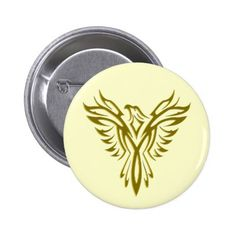 Phoenix Rising badge / button: get yours - click/tap