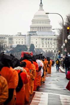 Protesting Guantanamo and indefinite detention