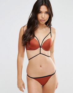 ASOS Padded Push Up Bikini Set