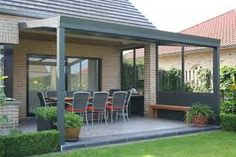 "Terrassenüberdachung Poly Kundenbild: Alu Terrassenüberdachung 400 x 350 cmPoly Poly, from the Greek πολύς meaning ""many"" or ""much"", may refer to: Back Gardens, Outdoor Gardens, Garden Room Extensions, Roof Extension, Getaway Cabins, Aluminum Patio, Pergola Designs, Winter Garden, Gazebo"