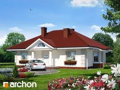 Dom pod jarząbem (G) 3d House Plans, Home Fashion, House Design, Mansions, House Styles, Outdoor Decor, Home Decor, Piano, Decoration Home