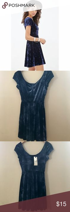 American Rag Blue Velvet Babydoll Dress American Rag Blue Velvet Babydoll Dress  - Size - Small - Color : blue - Perfect New Years dress - New with tags !        Gypsy Warrior , Dolls Kill , Nasty Gal , Asos , Pacsun , Urban Outfitters , Forever 21 , Free People , LF , shop bop , revolve clothing , Nordstrom , grunge , unif , crushed velvet , 90s , New Year's Eve dress , holiday dress , winter dress , mango , Zara , miss guided , boohoo , Windsor , Macy's , billabong , tillys , zumiez…