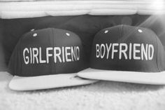 I need one for me & I need one for my amazing boyfriend. but i need one that say husband and wife Matching Couples, Cute Couples, Matching Clothes, Cute Relationships, Relationship Goals, All You Need Is Love, My Love, My Amazing Boyfriend, Flat Bill Hats