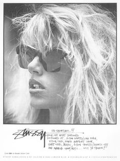 Stussy Sunglasses 1988