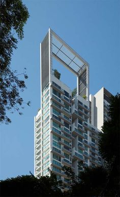 Apartment Building of Suites@Central in Singapore by MKPL Architects