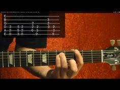 How to Play BATMAN Theme on Guitar
