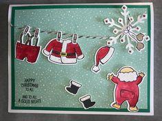Santa's Suit; Stampin'Up!