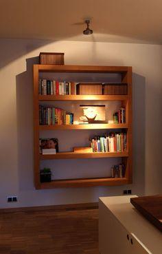 Bookshelf (Design by Strooom)  One of many different bookshelf designs..... @ Instructables.