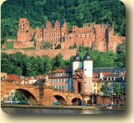 Heidelberg Castle  - heidelberg christmas market