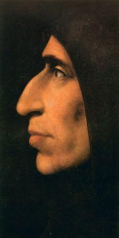 1495 /  Fra Bartolomeo /  portrait de Jérôme Savonarole.
