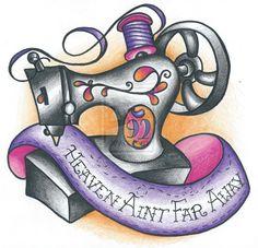 Sewing Machine by DarkKnightsGoddess.deviantart.com on @deviantART