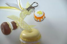 Macaron, 1, Christmas Ornaments, Holiday Decor, Home Decor, Atelier, Key Pouch, Greedy People, Fimo