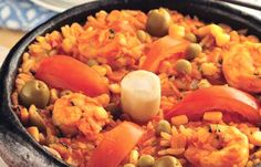 Flavors of Brazil: RECIPE - Shrimp and Rice, Espirito Santo Style (Arroz com Camarão Capixaba)