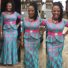 is an African fashion and lifestyle website that showcase trendy styles and designs, beauty, health, hairstyles, asoebi and latest ankara styles. African Dresses For Women, African Print Dresses, African Fashion Dresses, African Attire, African Wear, African Women, Ghanaian Fashion, African Prints, African Style