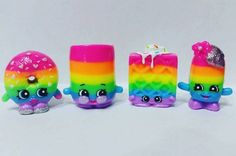 Rainbow Brights ○ ○ #shopkins #moosetoys #shopkinslove #shopkin #rainbow #customshopkins #shopkinscustom #shopkinslimitededition #shopkinsworld #twinkywinks #marshamallow #love #instagood #pictureofday #picoftheday #insta #twinkiewinks