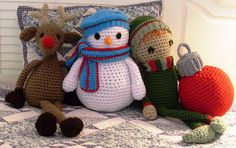 Ravelry: Super Sized Super Saver® Christmas pattern by Nancy Anderson.