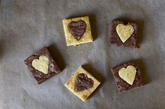 cut out brownies