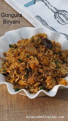 Gongura,known as Roselle, is tangy and sour leaf.Gongura (Hibiscus Sabdariffa) leaves – the most popular dish in Andhra Pradesh and Telangana, India. Gongura leaves are widely used in Andhra Pradesh.Gongura known as Jamaican sorrel leaves in carribean countries, as Roselle, florida cranberries in western countries. It is known as ambadi or pulicha keerai, LalChatni, Kutrum, Tengamora, Aamelli, Pundi Palle, Pitwaa, Taka bhendi, Khata Palanga, Kotrum, Mestapat, Amaari in other parts of India.