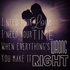 I need your love. Lyrics. Calvin Harris feat Ellie Goulding