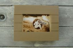 Cadre rétro à partir de bois de palette de la boutique lalouchic sur Etsy