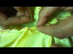 ▶ How To Do Smocking (Box Style) By Rose - YouTube