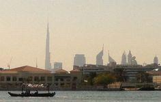 غرفة تجارة دبي: القيمة المضافة تسهم في بناء منظومة معلومات عن القطاعات الاقتصادية المختلفة United Arab Emirates, Paris Skyline, Painting, Travel, Viajes, Painting Art, Paintings, Destinations, Traveling