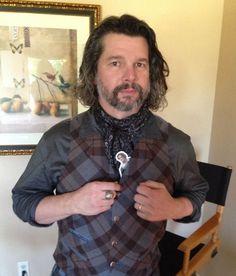 Ron with his Pocket Jamie #OutlanderInvadesLA